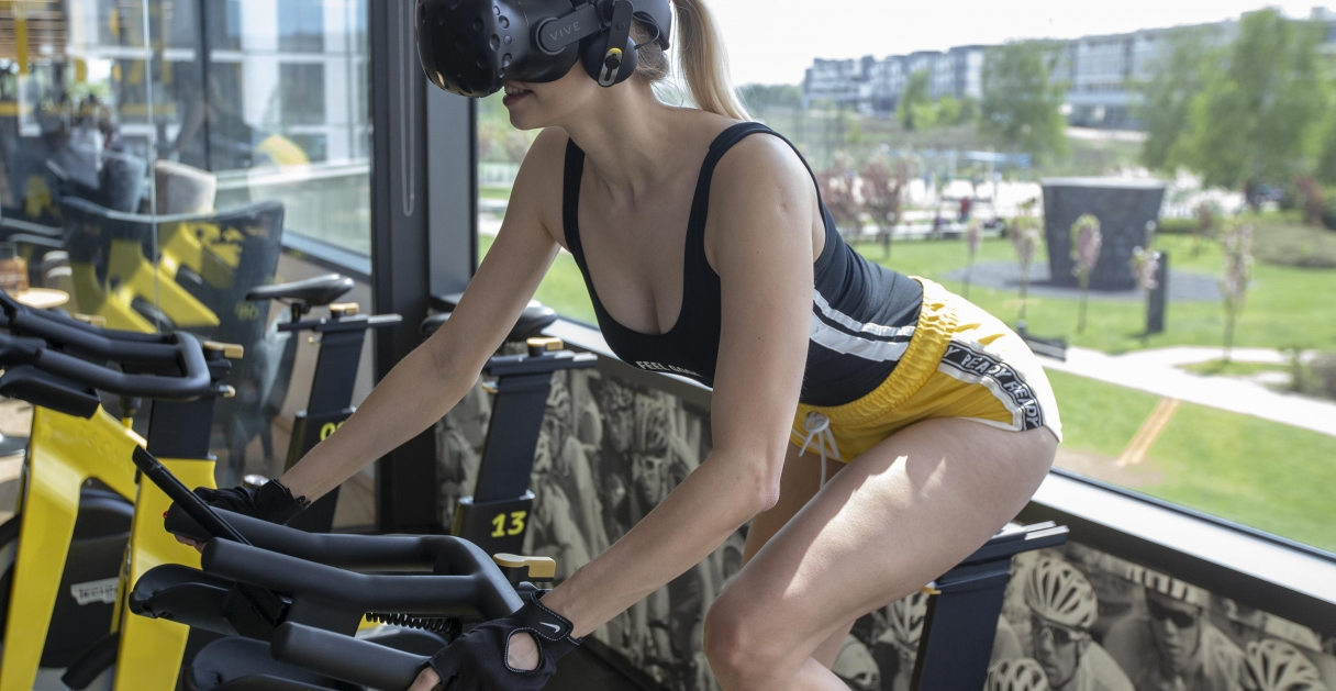 Addicted to Viro VR Cycling