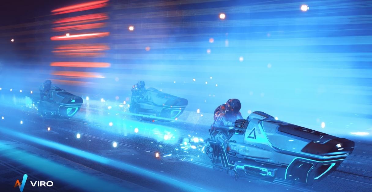 Viro Race Hovercraft