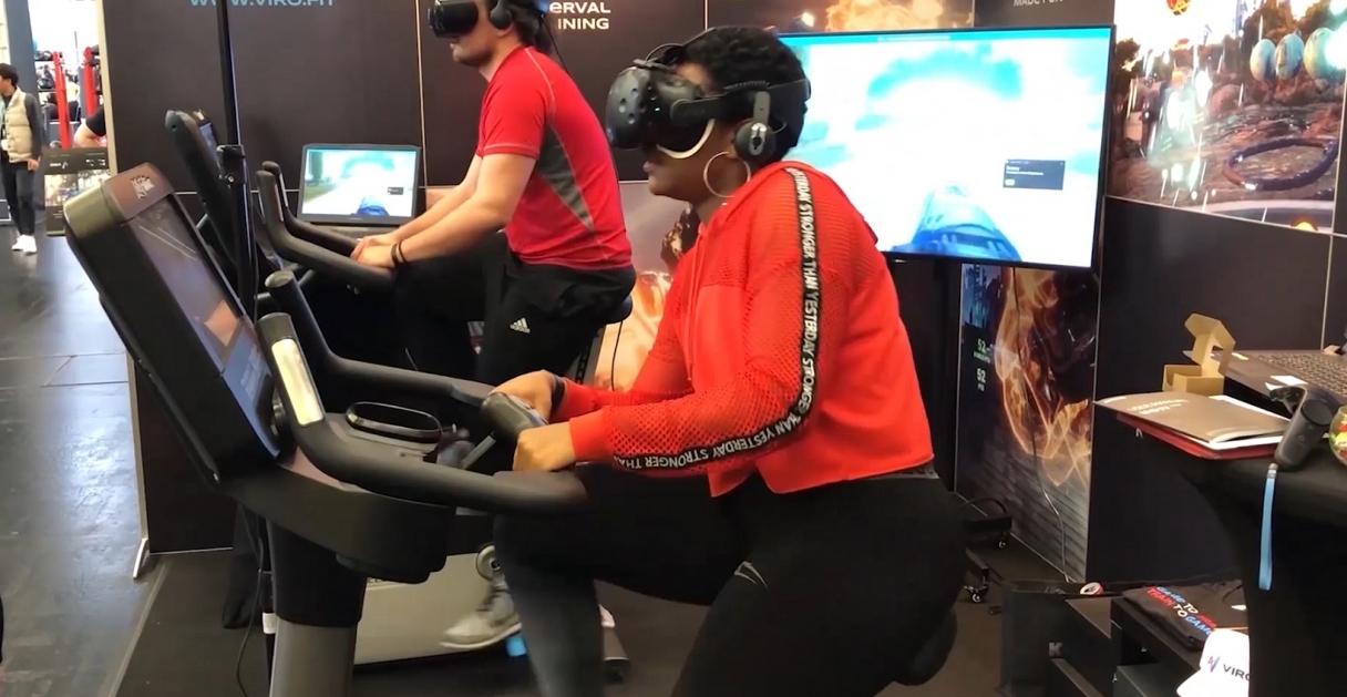 Viro VR Cycling Challenge